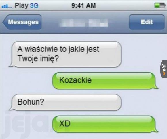 Kozackie imię