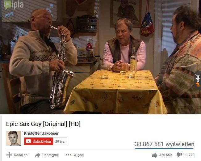 Kultowy saksofonista