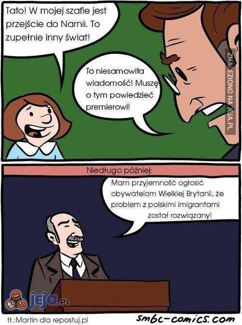 Sposób na polskich imigrantów