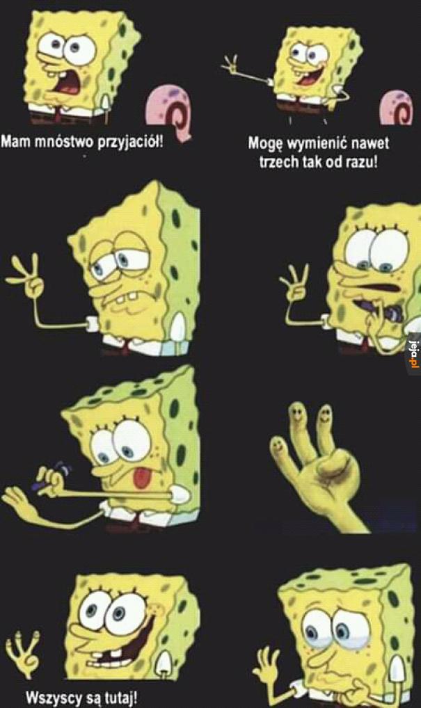 Wiedzieliście, że Spongebob to przegryw?