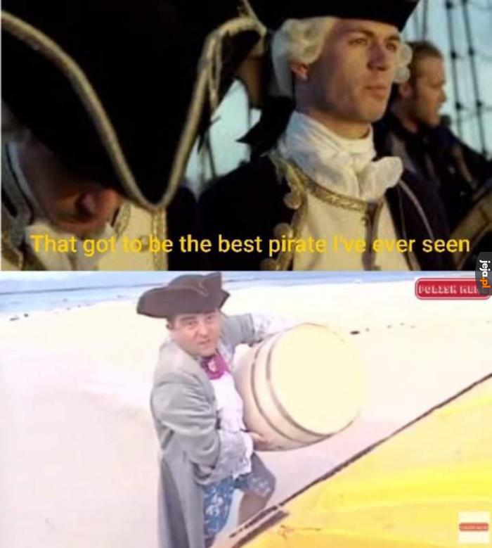 Najlepszy z piratów