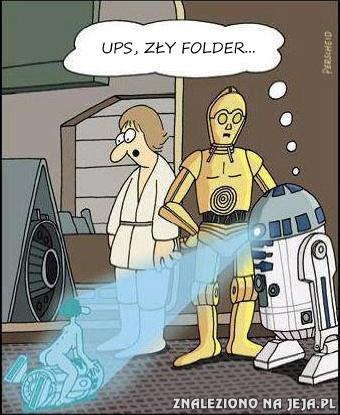 Ups, zły folder...