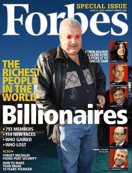 Najbogatsi ludzie świata