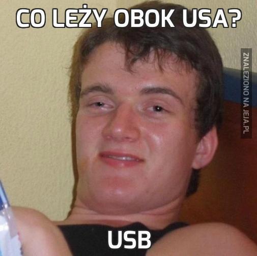 Co leży obok USA?
