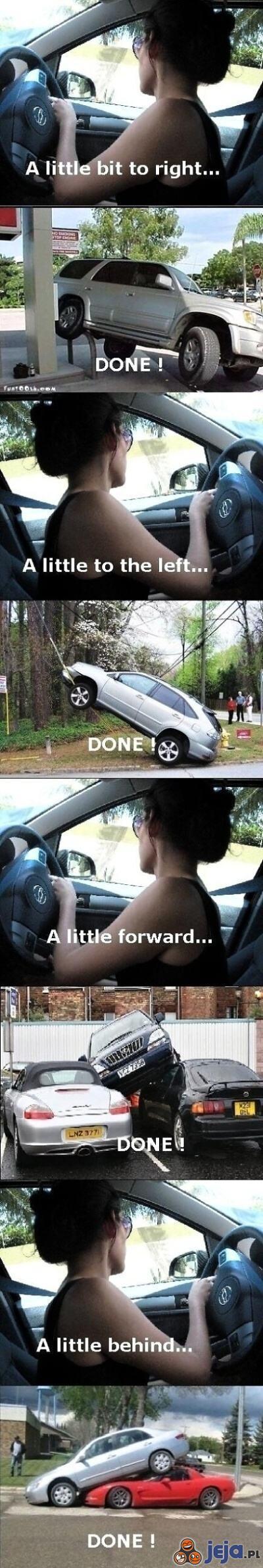 Jak parkują kobiety