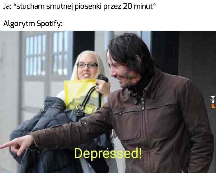 Gratuluję! Masz depresję!