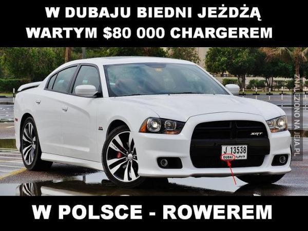 Różnica między Dubajem a Polską