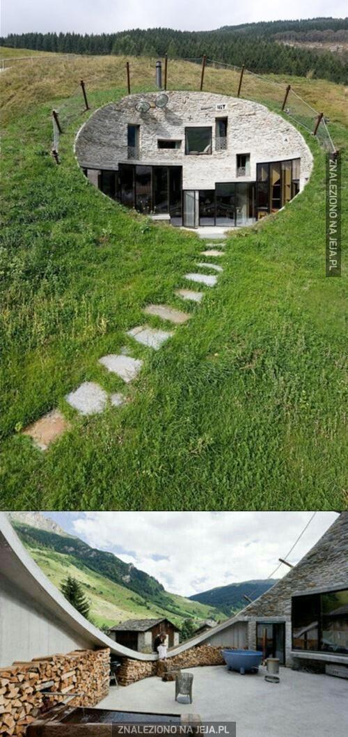 Całkiem niezły pomysł na baśniowy domek