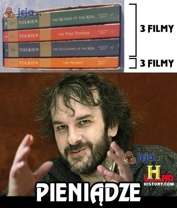 Władca Pierścieni vs Hobbit