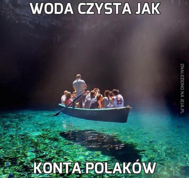 Woda czysta jak