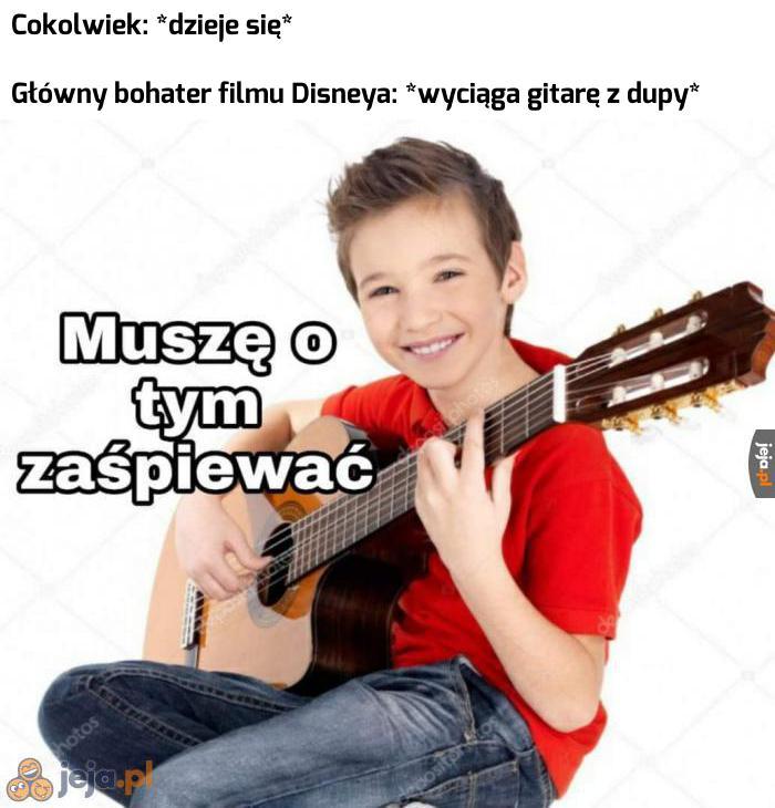 Film Disneya bez piosenki to nie film Disneya