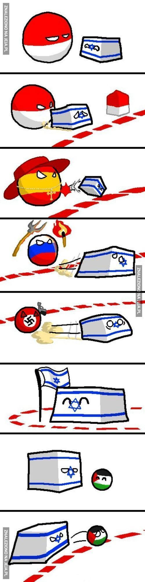 Spadaj Izrael!