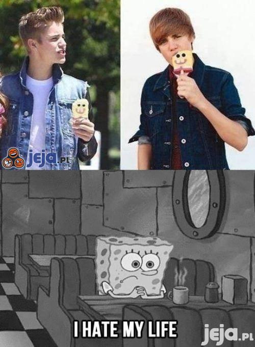 Biedny Sponge Bob...