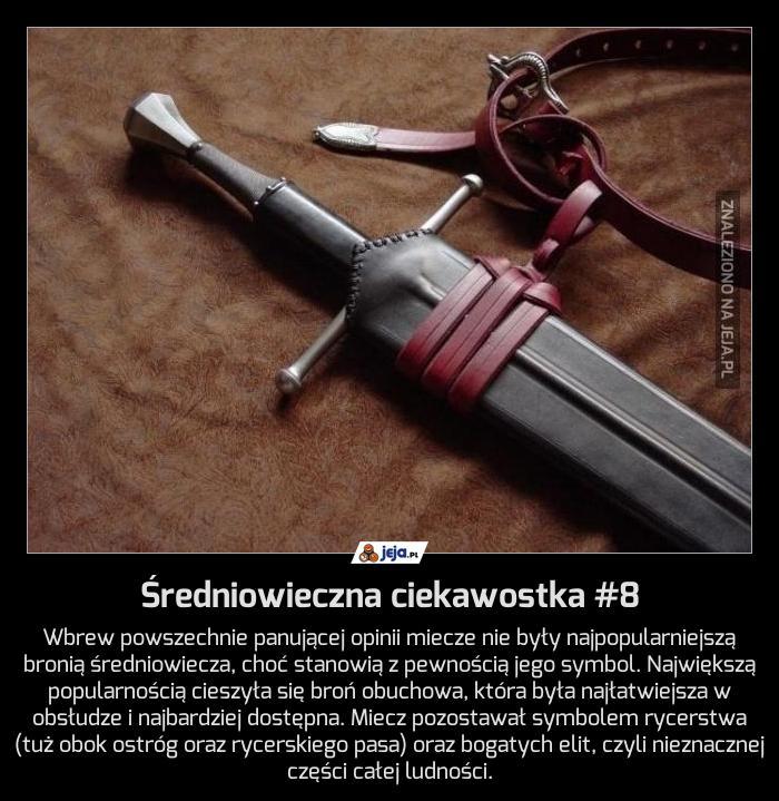 Średniowieczna ciekawostka #8