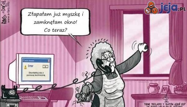 Babcia i komputer