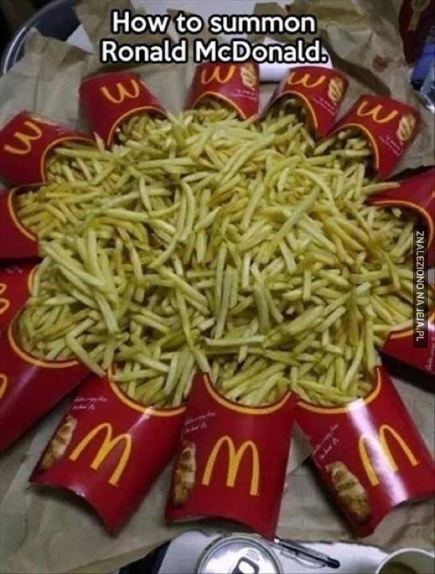 Ronald przybywaj!