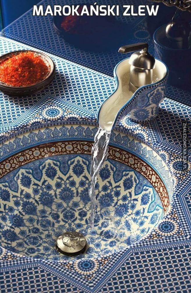 Marokański zlew