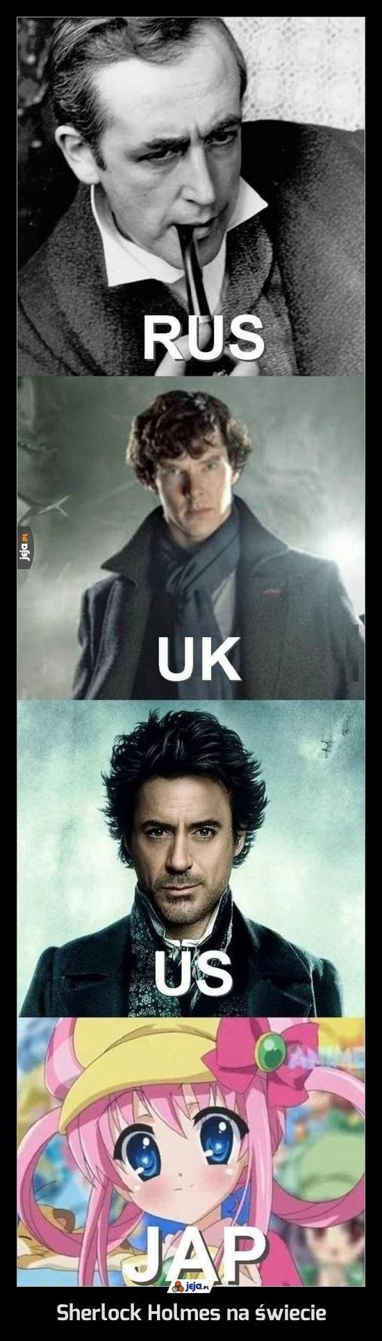 Sherlock Holmes na świecie