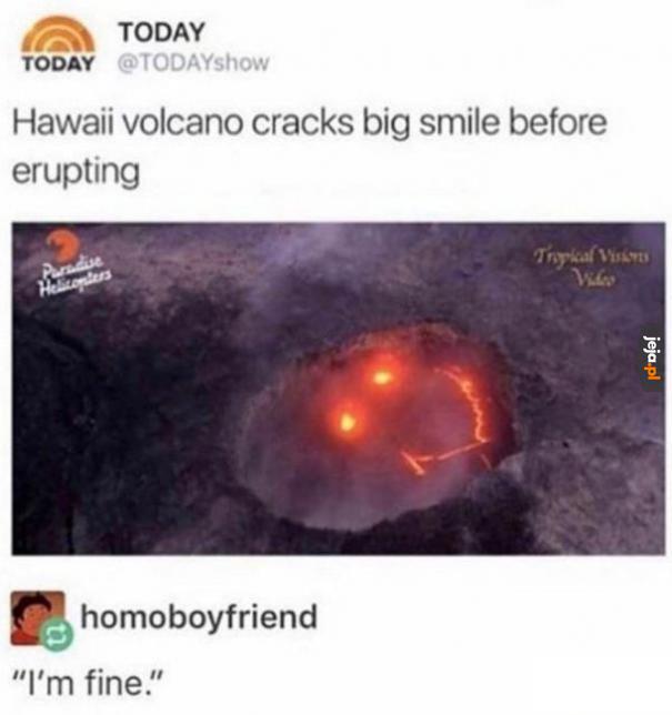 Wulkan przed erupcją