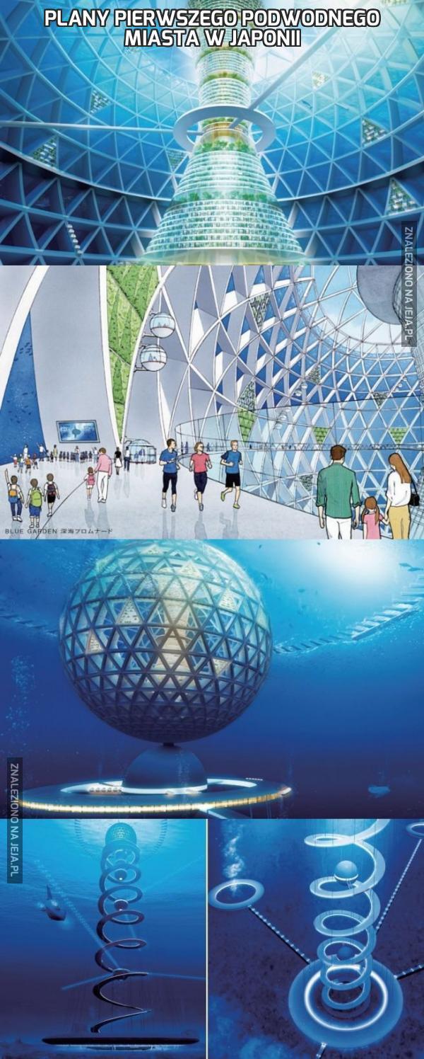 Plany pierwszego podwodnego miasta w Japonii