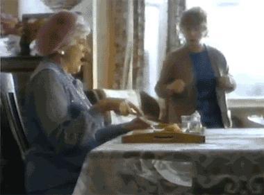 Gdy mama woła na obiad