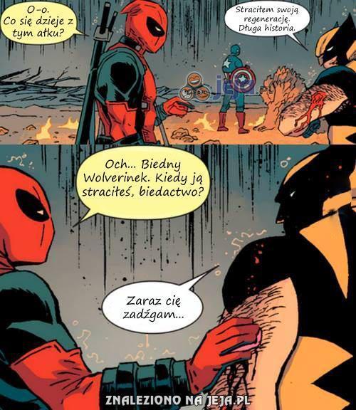 Biedny Wolverinek