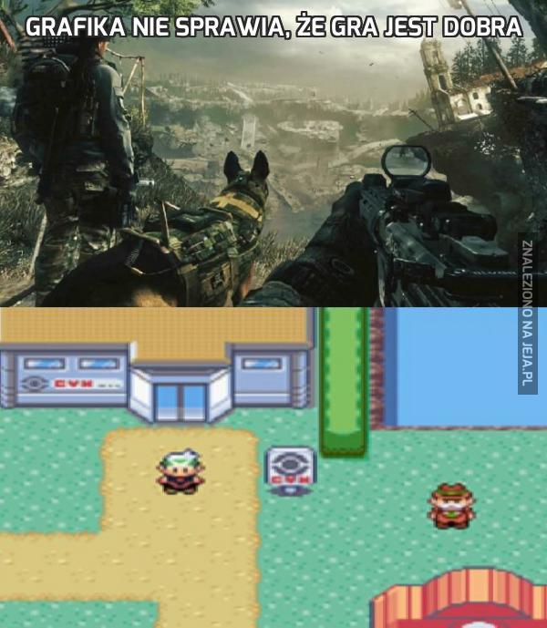 Grafika nie sprawia, że gra jest dobra