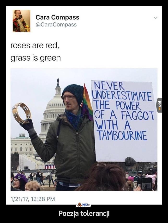 Poezja tolerancji