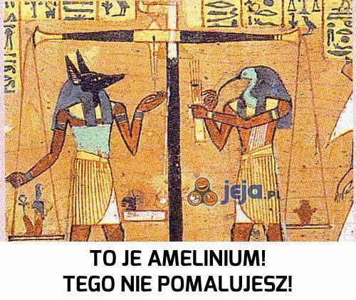 Amelinium 3000 lat temu