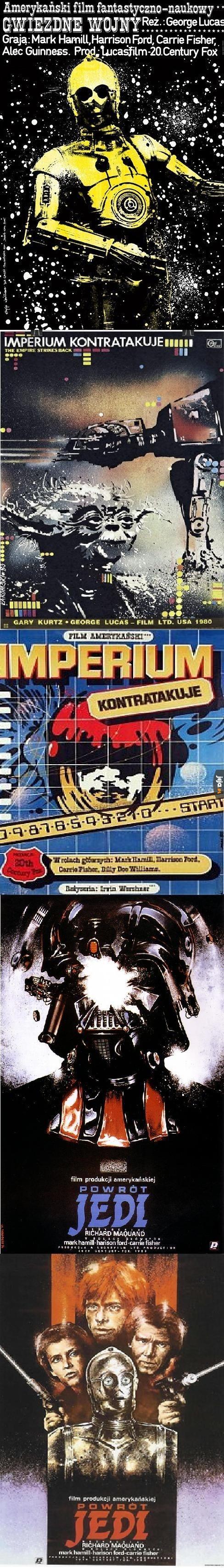 Polskie plakaty do Gwiezdnych Wojen