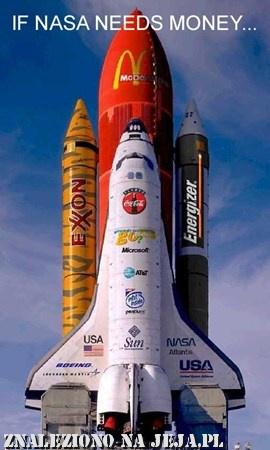 Reklamy NASA