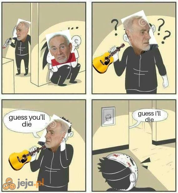 Najlepszy gitarowy morderca
