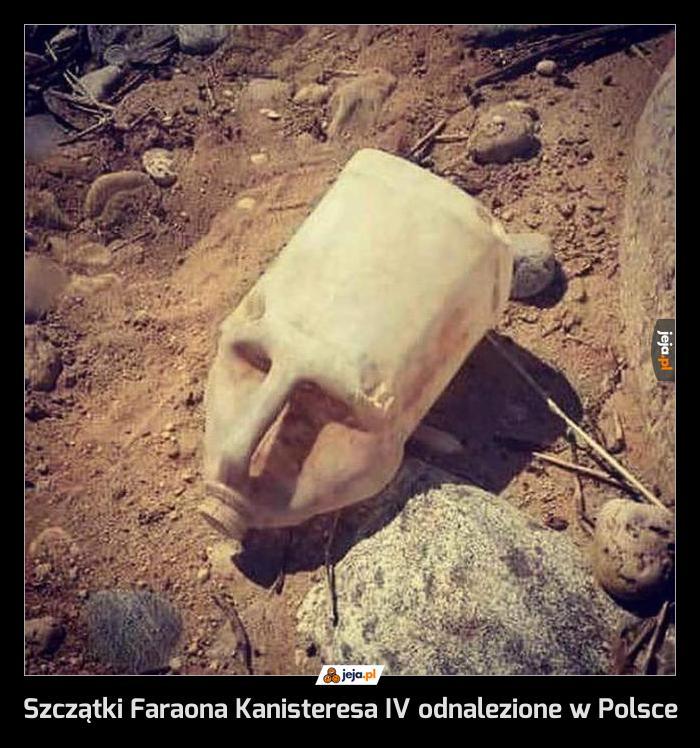 Szczątki Faraona Kanisteresa IV odnalezione w Polsce