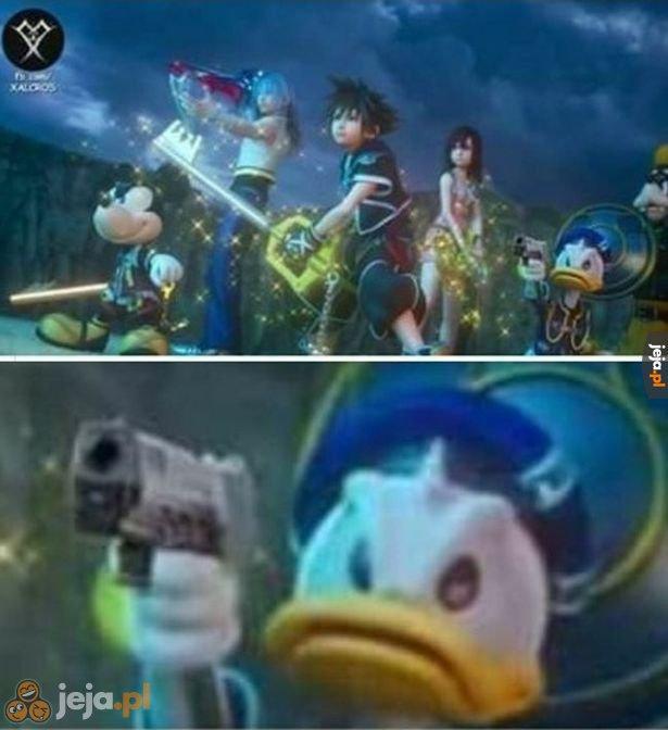 Donald się nie patyczkuje