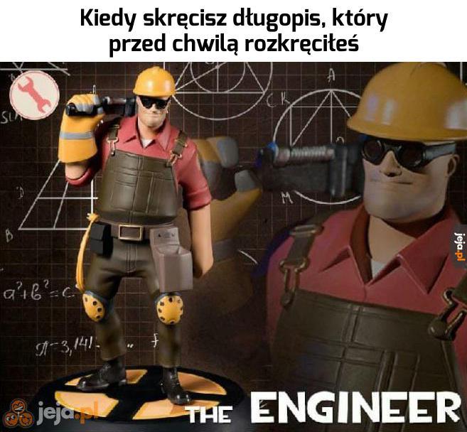 Mam zadatki na inżyniera