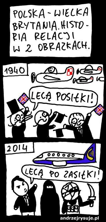 Polska - Wielka Brytania