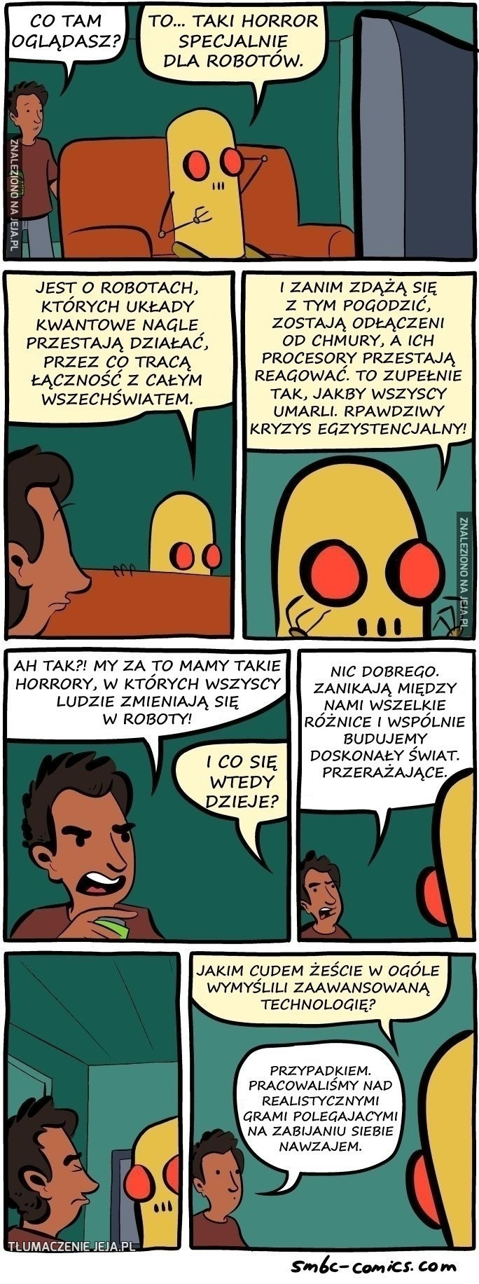 Horror dla robotów