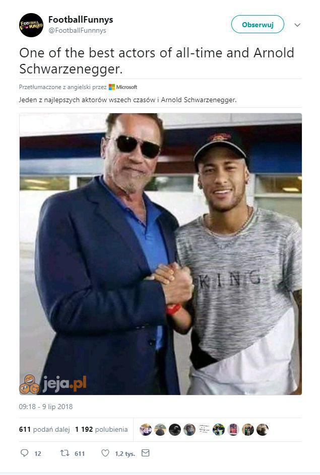 Arnold zapamięta to spotkanie na lata
