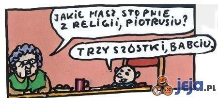 Oceny z religii