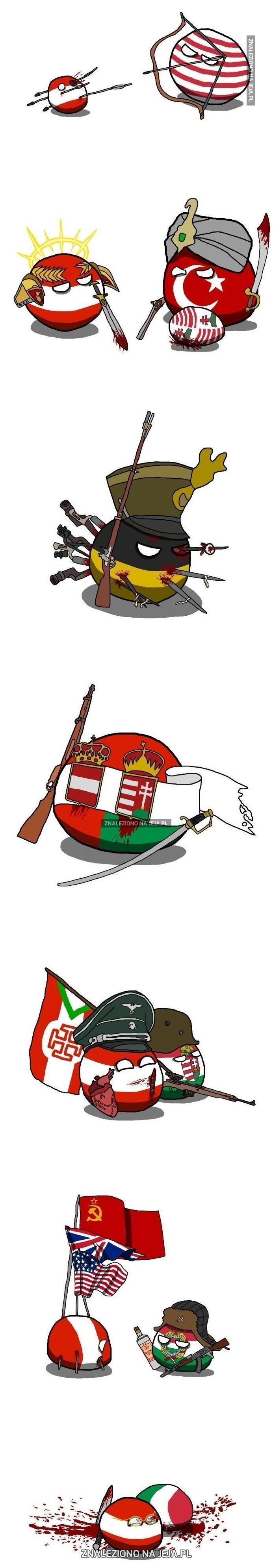 Krótka historia Austrii i Węgier