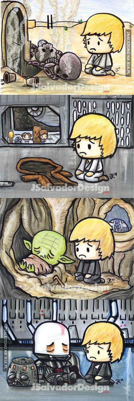 Biedny Luke...