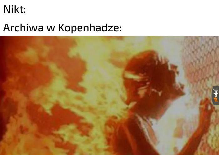 Spłonęły