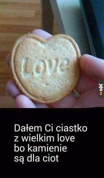 Ciastko Z Wielkim Love Jeja Pl
