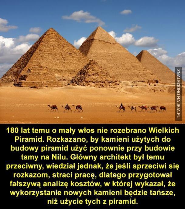 Piramidy do rozbiórki