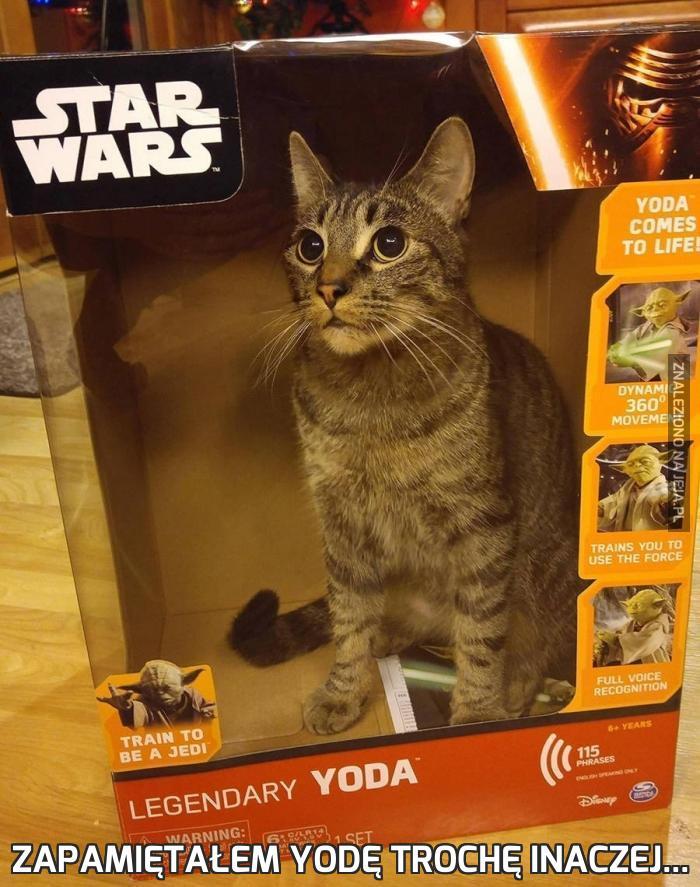 Zapamiętałem Yodę trochę inaczej...