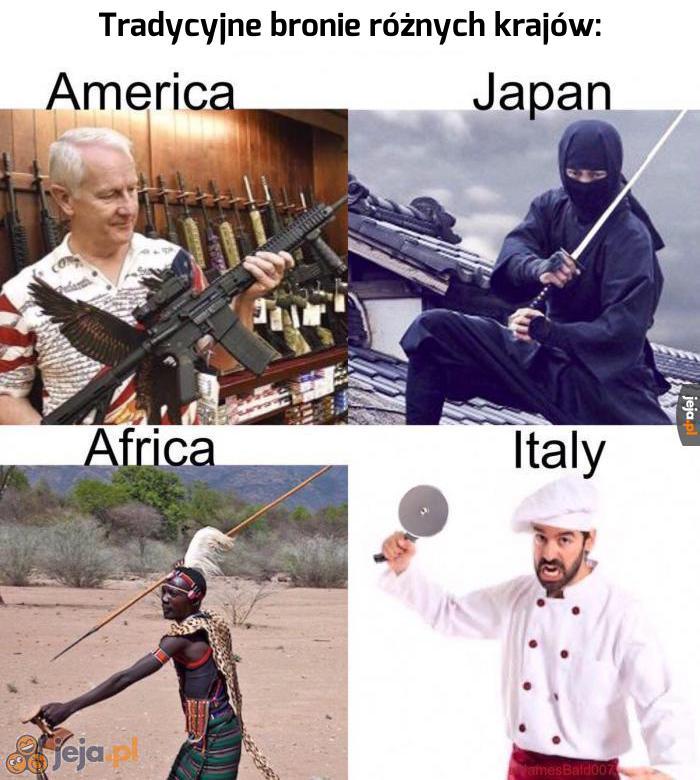 Tradycyjne bronie