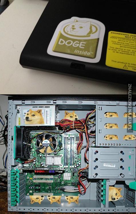 Wow, taki odpicowany komputereł