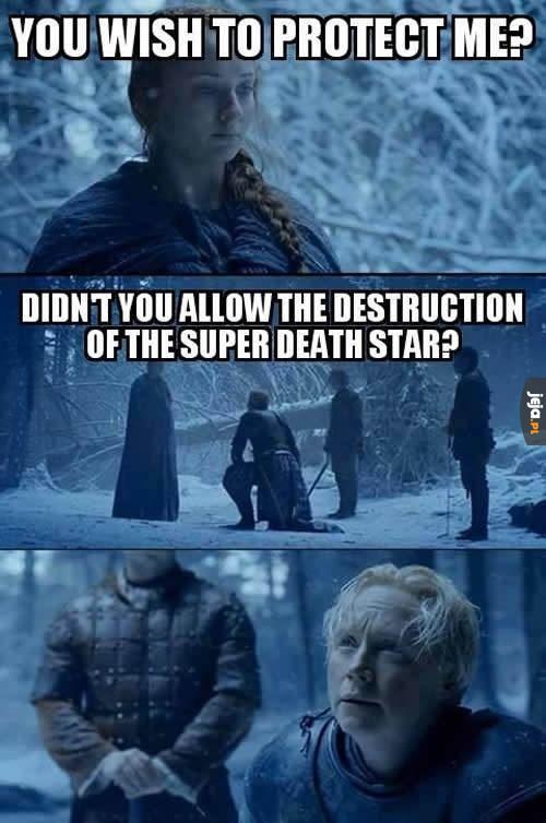 Sansa, to był Starkiller, ty durna babo!