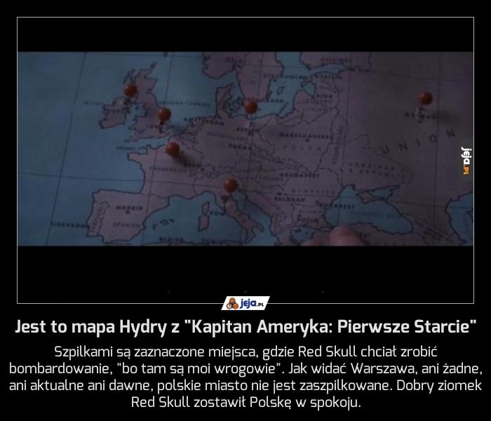 """Jest to mapa Hydry z """"Kapitan Ameryka: Pierwsze Starcie"""""""
