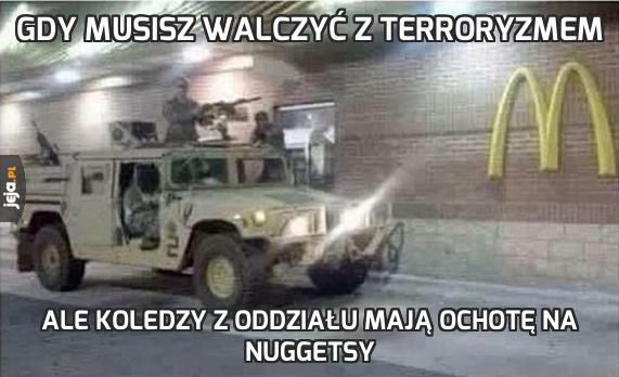 Gdy musisz walczyć z terroryzmem